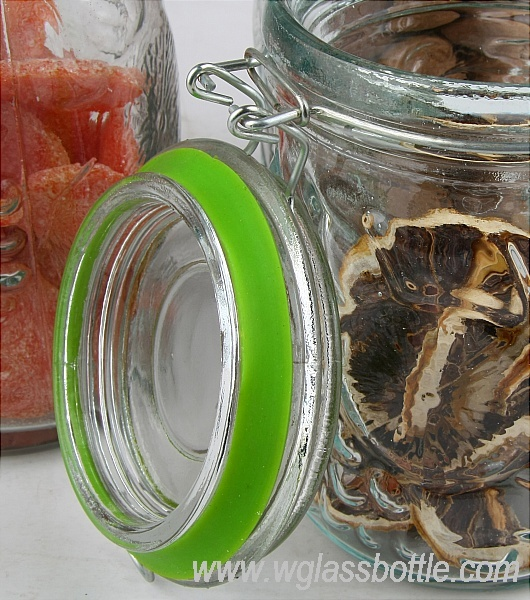 glass storage jar/canister